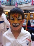 tkd tigers face painting